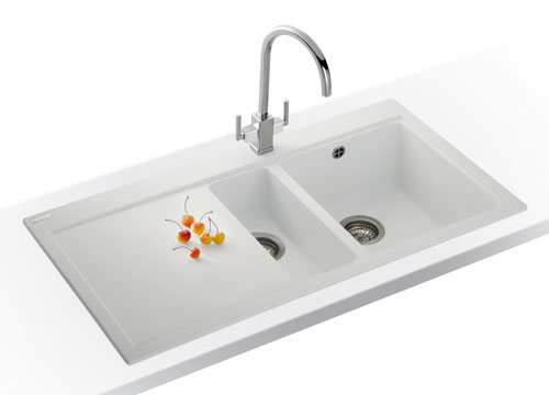 franke mythos mtg 651100dp fragnite kitchen sink lhd - Kitchen Sinks Franke
